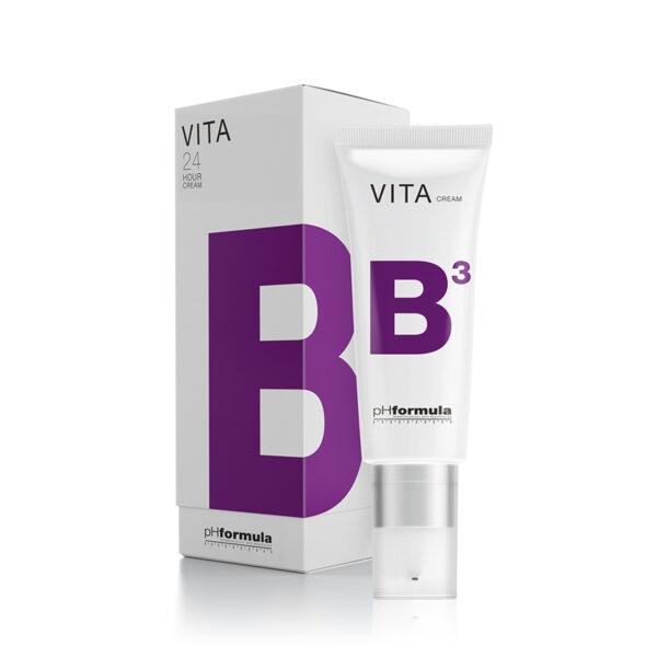 pHformula V.I.T.A- B 24 Hour Cream, punetuse, tundlikuse ja põletike vastane kreem